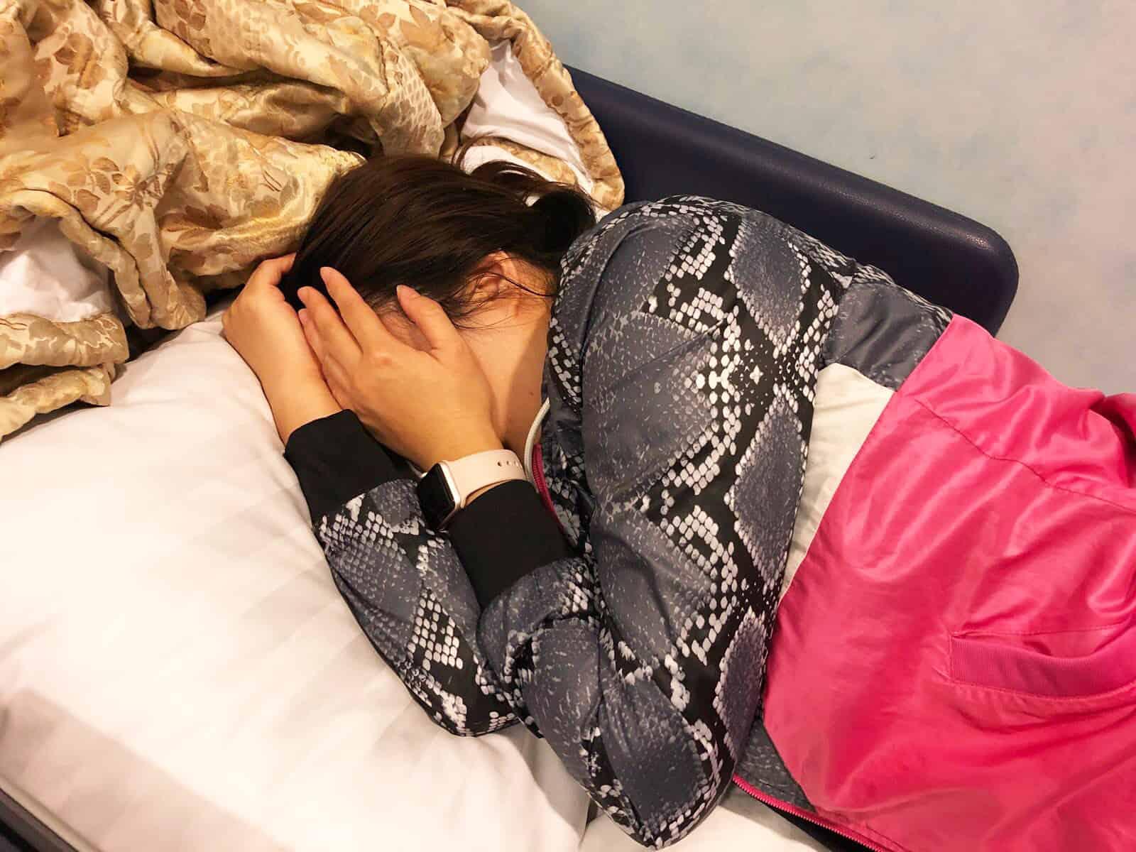 媽媽筋疲力竭