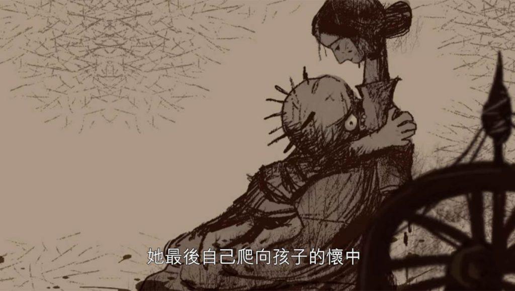 喪屍小孩想要的是母親的溫暖